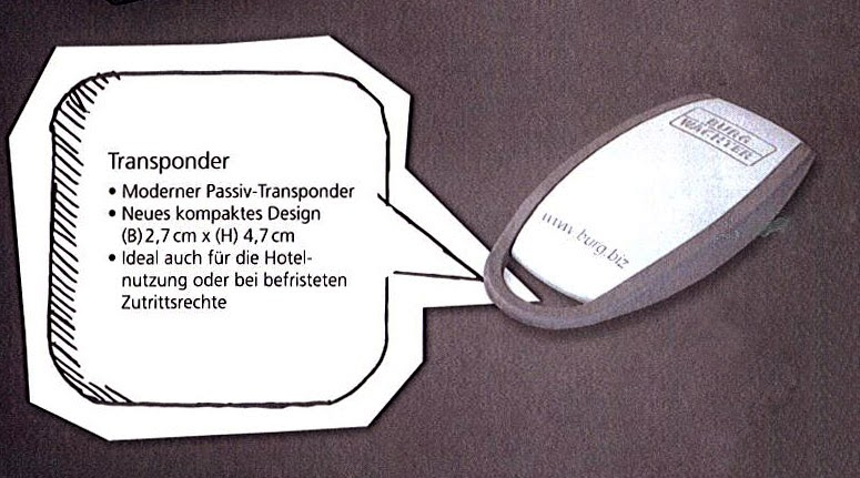 Secuentry Der Transponder